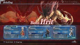 Dissidia Final Fantasy NT - Ifrit Boss Battle Gameplay Walkthrough [1080p 60FPS HD]