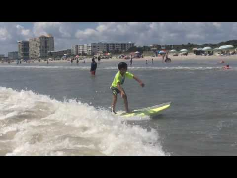 Surfing at Lori Wilson Park
