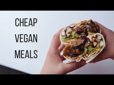 Cheap Vegan Meal Ideas for Students!