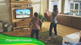 Kinect for Xbox 360 - Kinect Family official video game system preview trailer HD(Kinect for Xbox 360 is the official name of Microsoft's new controller-free game device, formerly called Project Natal. The slim black Kinect sensor - containing a ..., 2010-10-26T12:22:10.000Z)