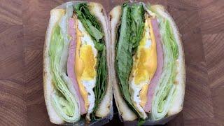 단짠단짠 너무 맛있는 스팸 샌드위치 만들기 | 스팸 요…
