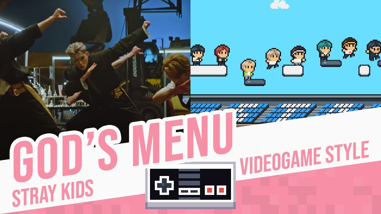 GOD'S MENU, Stray Kids - Videogame Style