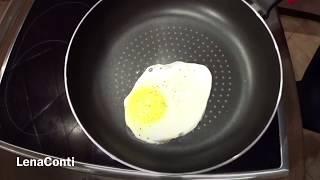 LC290: Женский клуб. Обзор покупок. Посуда. Сковородка Röndell. Испытание, жарим яйцо без масла!