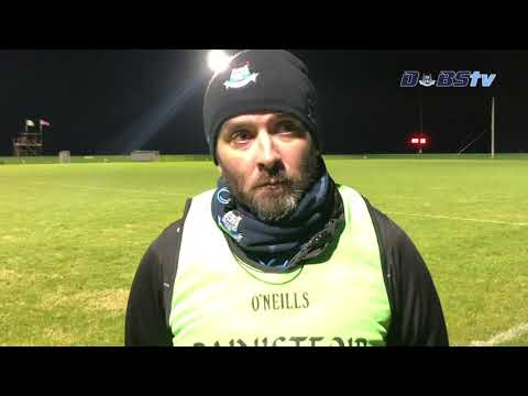 Dublin U20s hurling manager Paul O'Brien chats to DubsTV after Round 1 win over Antrim