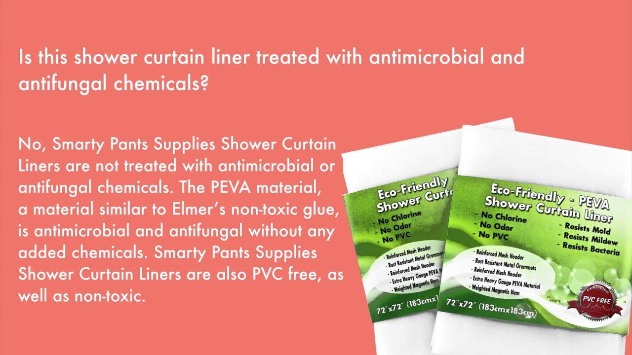 Is This Shower Curtain Liner Treated With Antimicrobial And Antifungal Chemicals