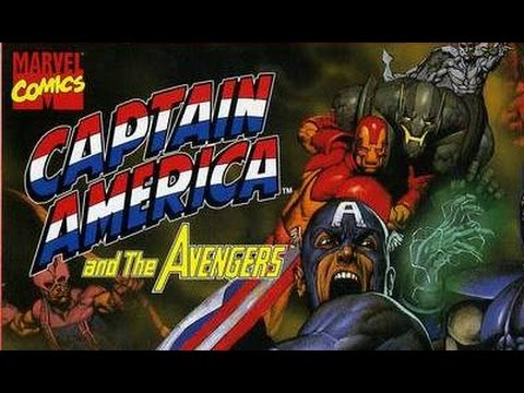 Обзор Captain America and the Avengers (Молодость) NES Денди Wolfing