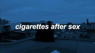 Cigarettes After Sex - Opera House (Español)