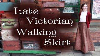 Making an 1895 Walking Skirt (Using an 1895 Drafting Method)