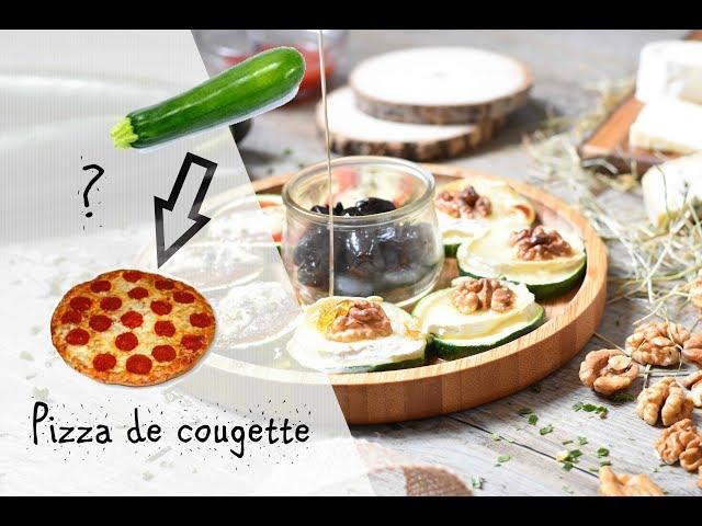Pizzas de courgettes pour un apéritif léger
