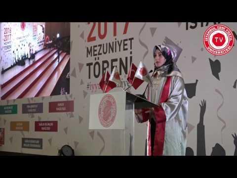 İstanbul Yeni Yüzyıl Üniversitesi 2016-2017 Mezuniyet Töreni