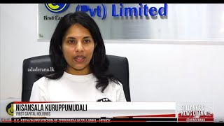 Nisansala Kuruppumudali, at First Capital commenting on the bond and stock market forecast
