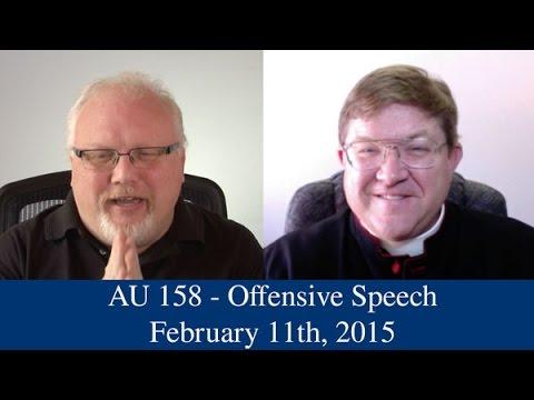 AU 158 - Offensive Speech