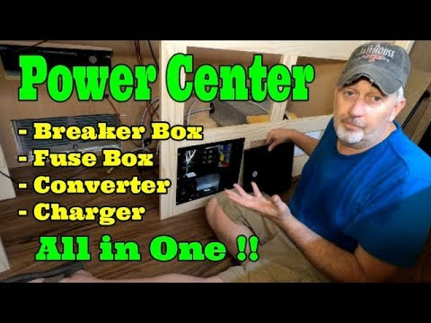 Power Center - Converter Charger In Custom RV Build **The Cheapest Way**