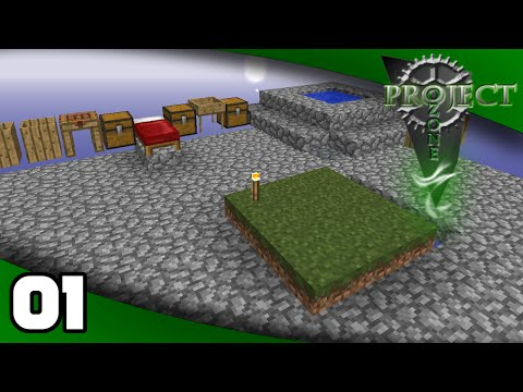 Project Ozone - Ep. 1: A New Skyblock! | Project Ozone Minecraft Modpack