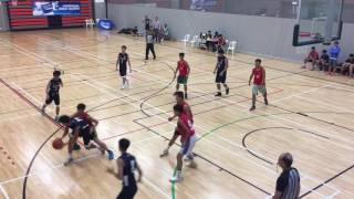 全港學界籃球馬拉松(文理V.S.可立)第一節