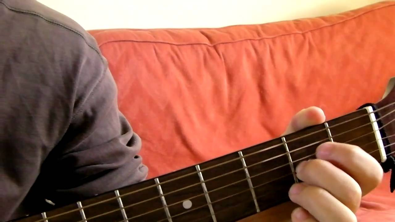 A7sus4 Guitar Chord Demonstration Youtube