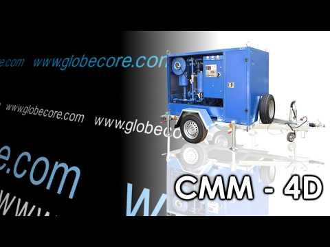 GlobeCore Turbine Oil Regeneration Process in action