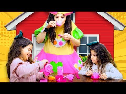علوش ومروش - بيت بيوت - aloush maroush pretended play