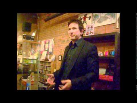 Alan Wilder in Seattle 2010 talking about Martin Gore
