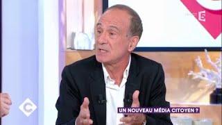 Gérard Miller : un nouveau média citoyen ? - C à Vous - 25/09/2017