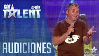 Chistes propios, energía... ¡Joe hace reír a todo el Teatro! | Audiciones 5 | Got Talent España 2016
