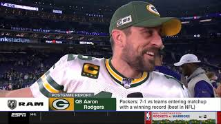 [BREAKING NEWS] Packers clinch NFC North title with 23-10 win over Vikings
