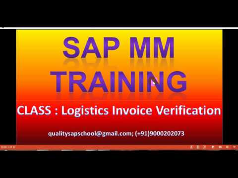 Logistics Invoice Verification