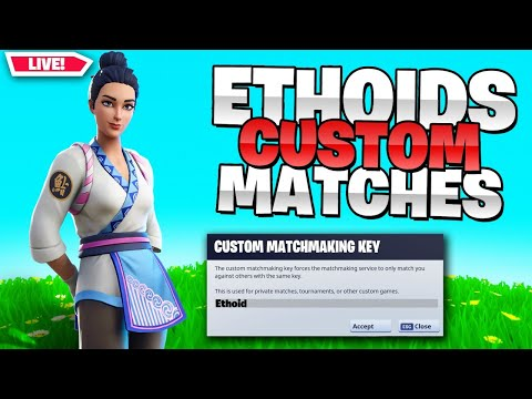 🔴 (EU) CUSTOM MATCHMAKING SOLO/DUO/SQUAD SCRIMS FORTNITE LIVE / PS4,XBOX,PC,MOBILE,SWITCH