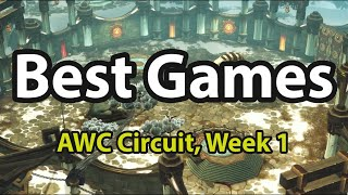 Best Games in AWC Circuit, Week 1, Season 1 | World of Warcraft, Shadowlands