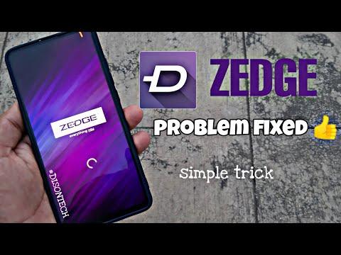 How To Fix Zedge Wallpaper , Zedge No Items Fix (hindi)