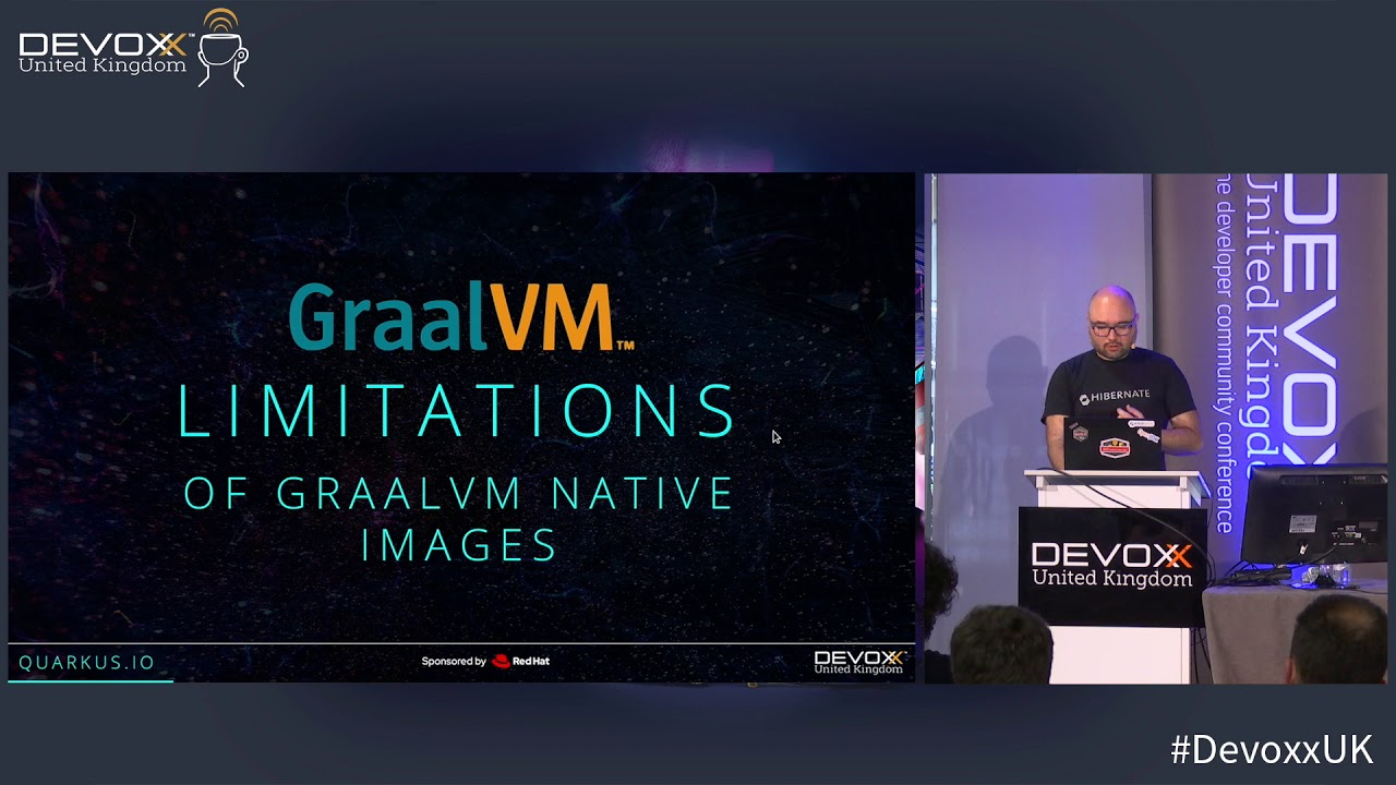 Quarkus and GraalVM: booting Hibernate at supersonic speed, subatomic size  by Sanne Grinovero