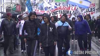 Video: Marcha por la libertad de Santiago Seillan