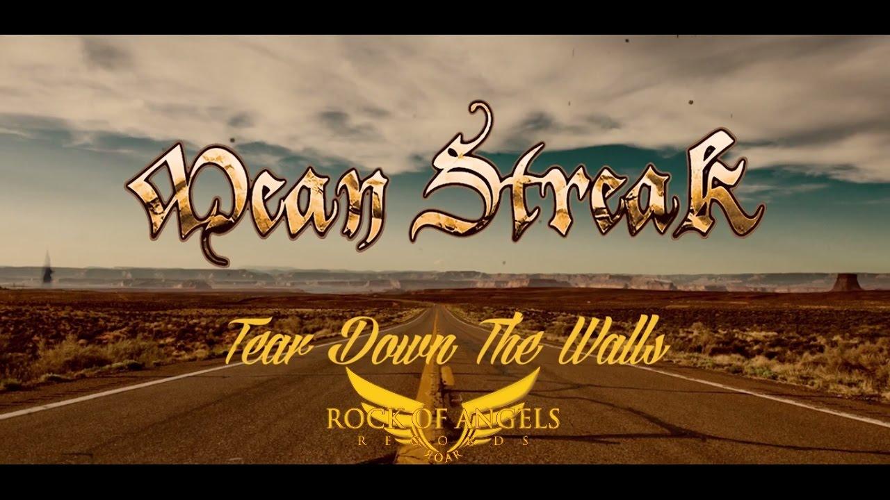 Mean streak tear down the walls official lyric video