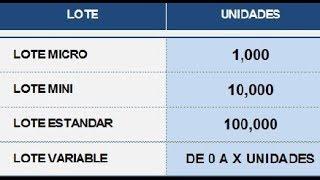 Forex ¿Qué es el lote o Lotaje? Curso de Forex Numero #6