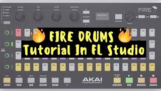 FIRE Drums Tutorial In FL Studio 20 x Serato Sample