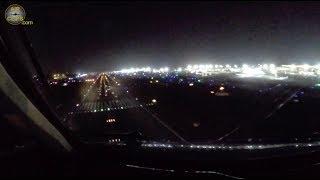 Claudia's SOFTEST EVER MD-11F Landing - Beautiful Night at Mumbai, India! [AirClips]