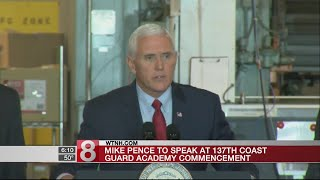 Mike Pence to speak at 137th Coast Guard commencement