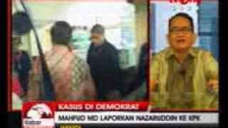 Tv one 2405 Mahfud MD Laporkan Nazaruddin Ke KPK b AVI