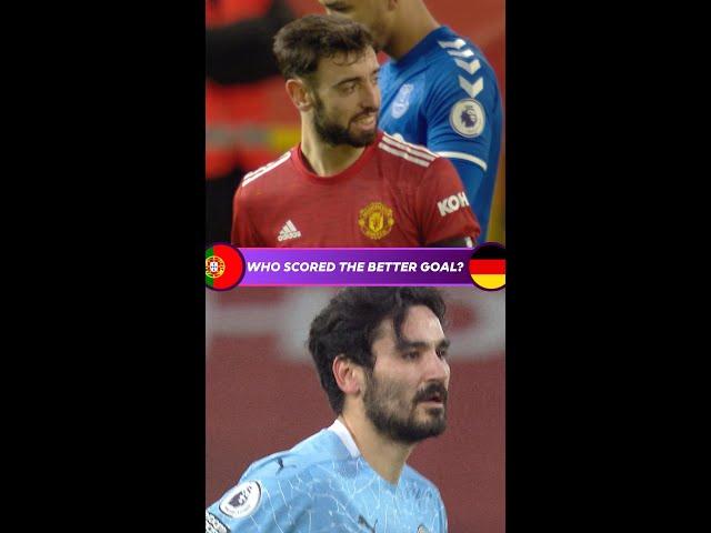 Who scored the better goal?   Portugal v Germany   Fernandes v Gündoğan   Euro 2020