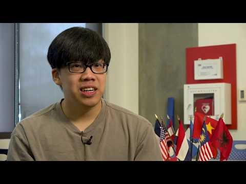 Everett Community College Student Spotlight - International Student Huy Ho