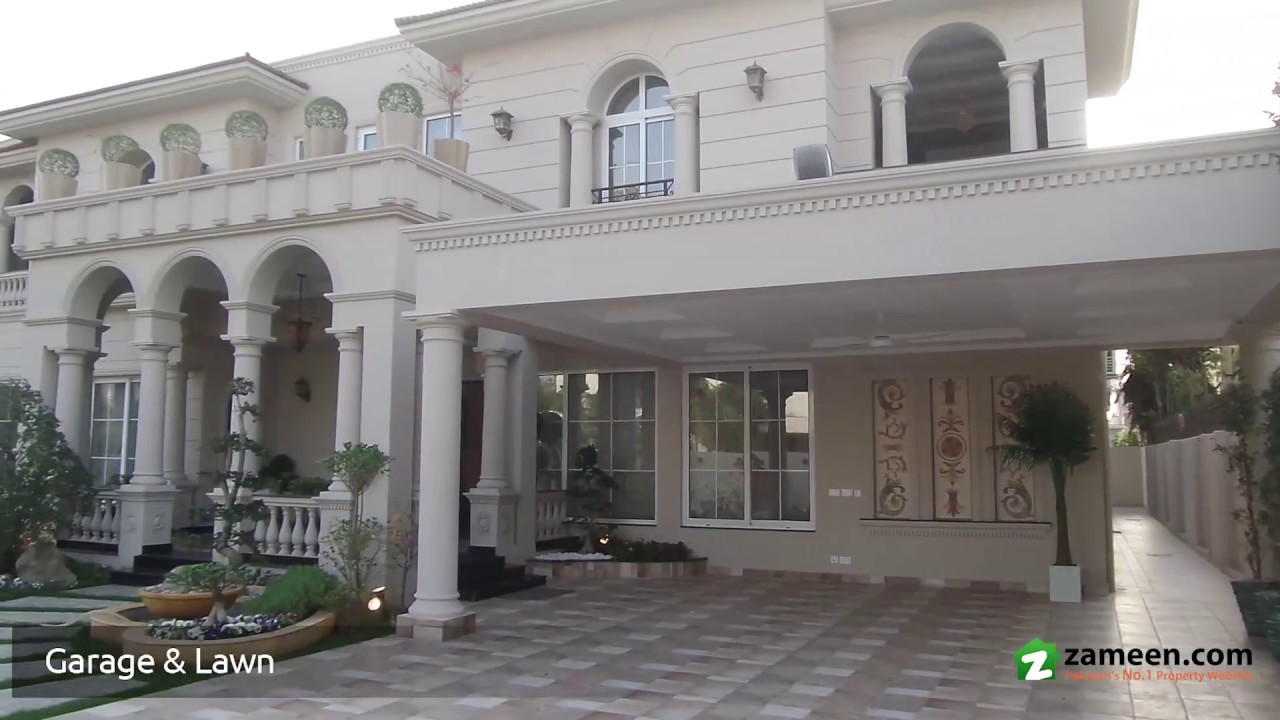 2 kanal brand new furnished house is available for sale in