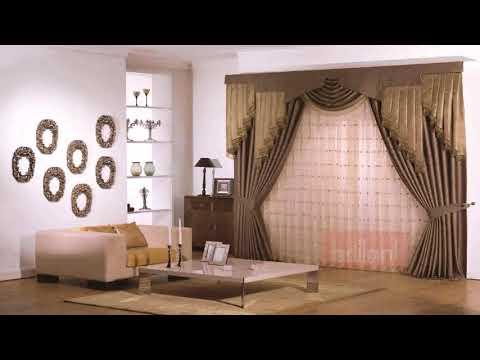 Living Room Window Curtain Designs 2015
