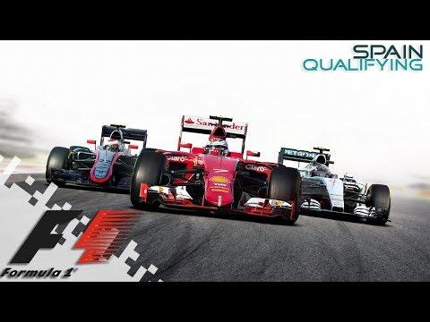 F1 2016 - SPAIN - Qualifying!