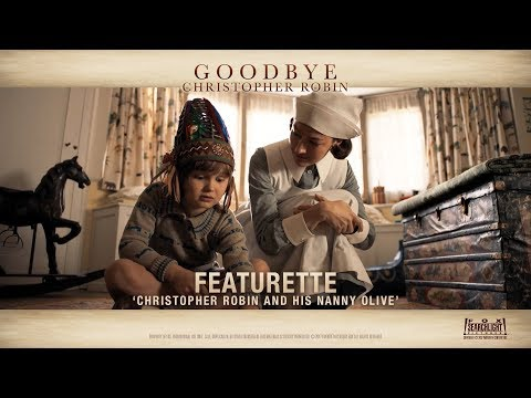 Goodbye Christopher Robin 'Christopher Robin & His Nanny Olive' Featurette in HD 1080p