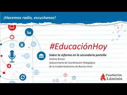 Educación Hoy: Entrevista a Andrea Bruzos