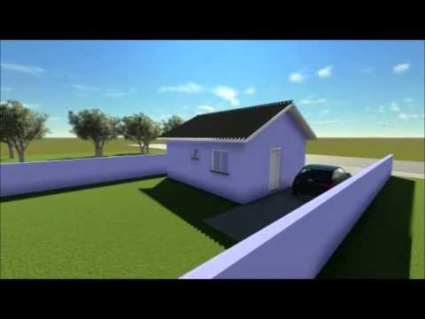 Plan De Maison Avec 2 Chambres Code 135 Youtube