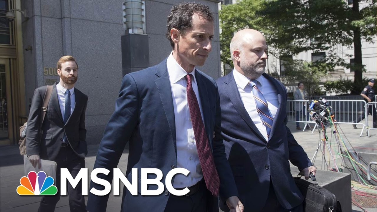 Anthony Weiner Pleads Guilty in Sexting Case With Teen, Faces Prison Time