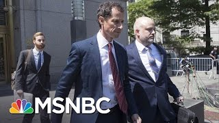Anthony Weiner Pleads Guilty In Sexting Case | MSNBC