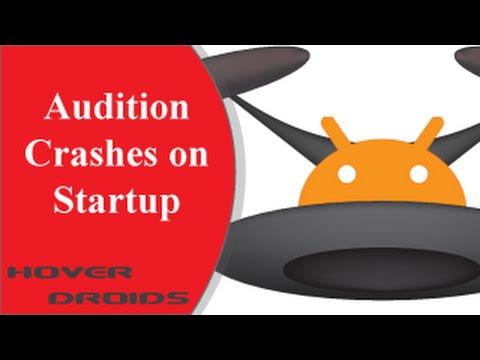 Adobe Audition Crashing on Startup (Resolved)