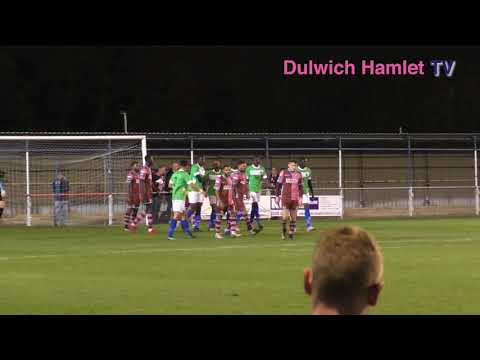 Anthony Acheampong 1st Goal vs Corinthian-Casuals, London Senior Cup Second Round, 05/12/17